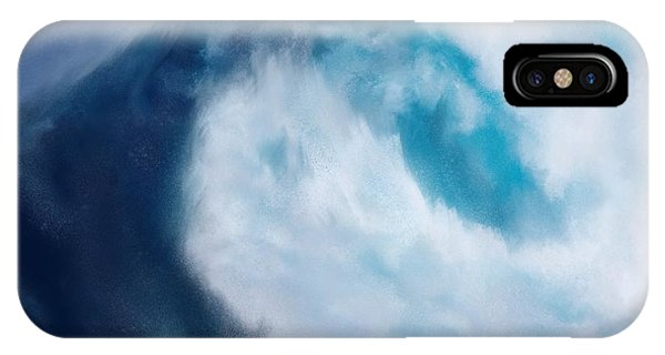 IPhone Case featuring the digital art Bering Sea by Mark Taylor