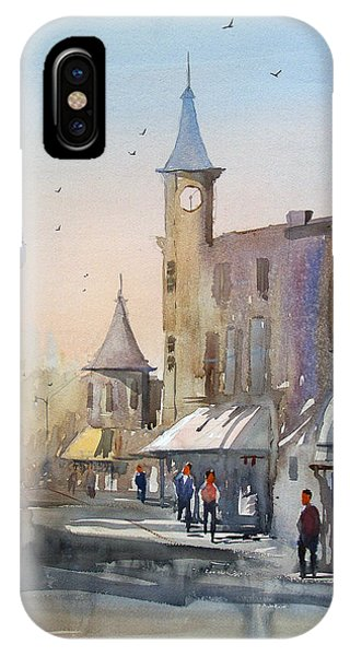 Clock iPhone Case - Berlin Clock Tower by Ryan Radke