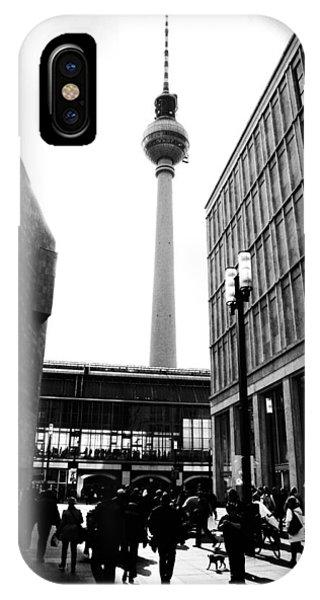 Berlin Street Photography IPhone Case