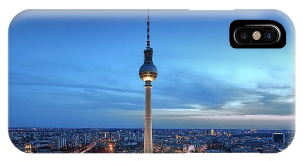 Berlin Television Tower IPhone Case