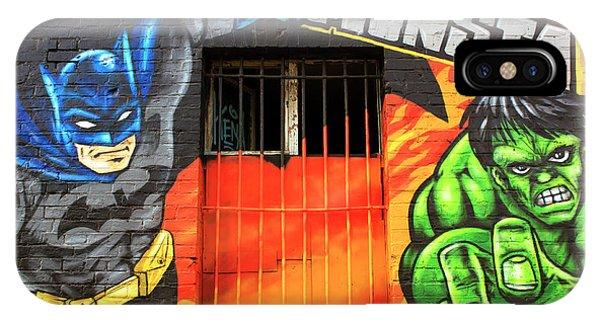Berlin Wall Monsta Door Phone Case by John Rizzuto