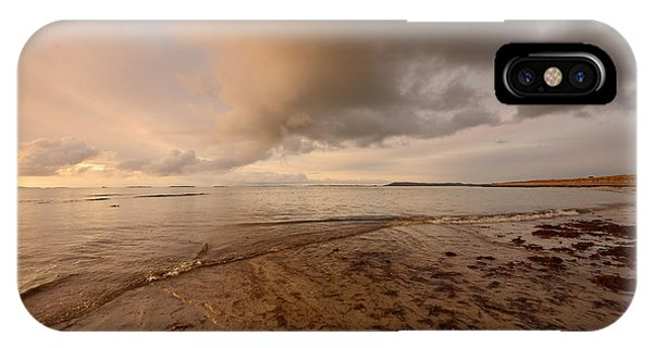 Scotland iPhone Case - Berneray Dawn by Smart Aviation