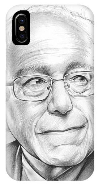 Political iPhone Case - Bernie Sanders by Greg Joens
