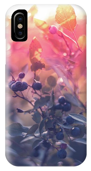 Berries In The Sun IPhone Case