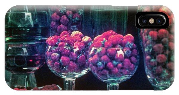 Berries In The Window IPhone Case
