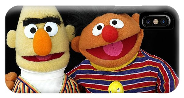 Bert And Ernie IPhone Case