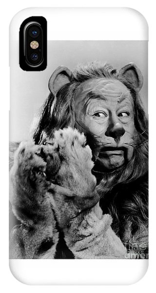Cowardly Lion In The Wizard Of Oz IPhone Case