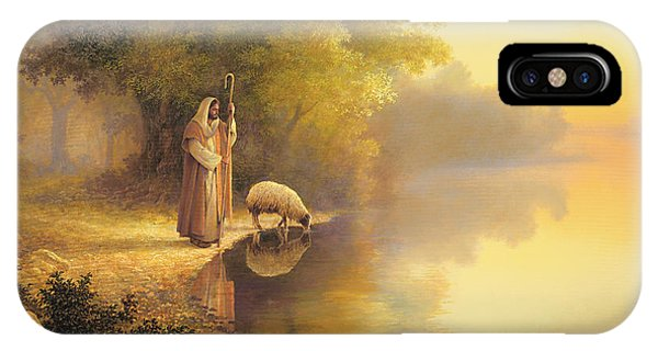 Reflection iPhone Case - Beside Still Waters by Greg Olsen