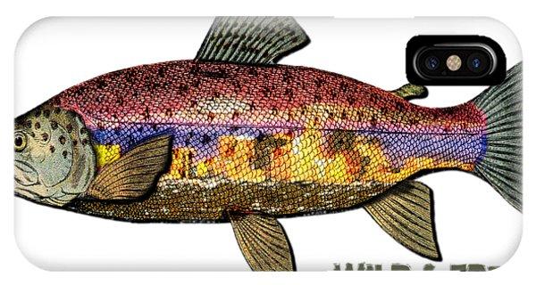 Fishing - Best Caught Wild - On Light No Hat IPhone Case
