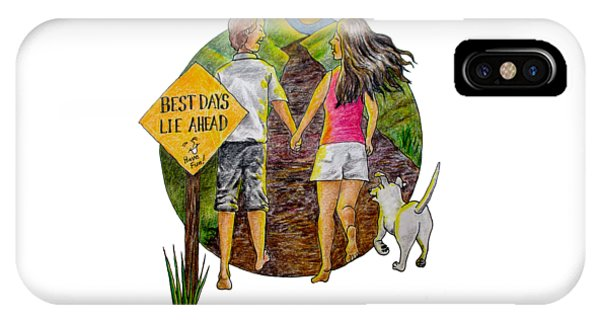 Best Days Lie Ahead IPhone Case