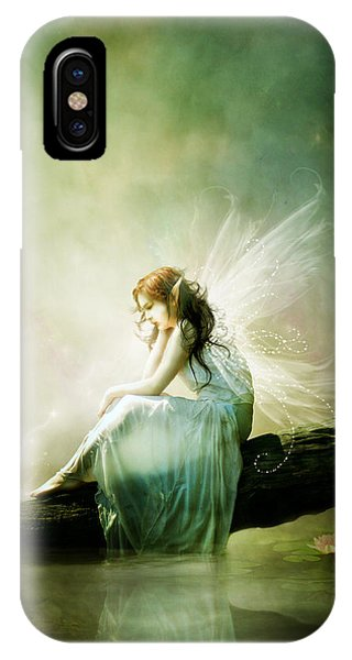 Fantasy iPhone X Case - Best Of Friends by Karen Koski