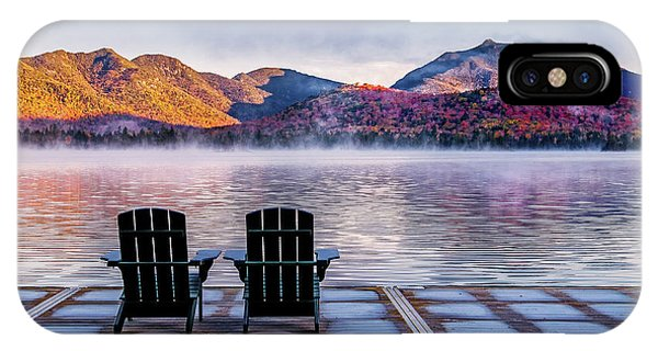 Best Seats In The Adirondacks IPhone Case