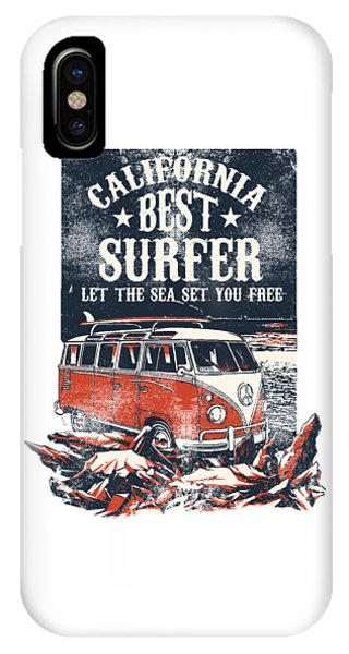 IPhone Case featuring the digital art Best Surfer by Christopher Meade