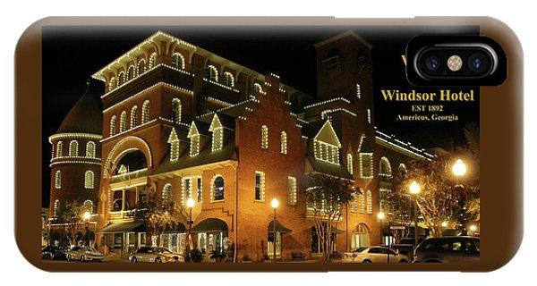 Best Western Plus Windsor Hotel - Christmas -2 IPhone Case
