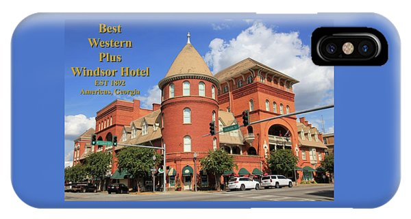 Best Western Plus Windsor Hotel IPhone Case