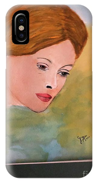 IPhone Case featuring the painting Beth by Donald Paczynski