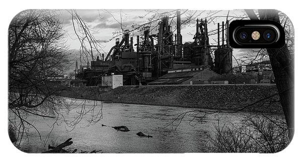 Bethlehem Steel Bw IPhone Case