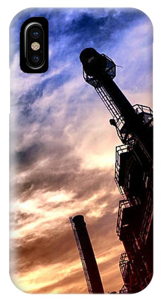 Trestle iPhone Case - Bethlehem Steel Glory by Olivier Le Queinec