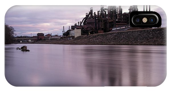 Bethlehem Steel Sunset IPhone Case