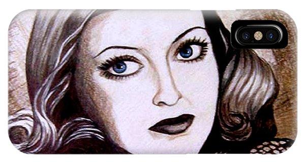 Bette Davis 1941 IPhone Case