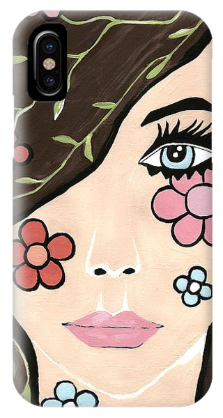 Betty - Contemporary Woman IPhone Case