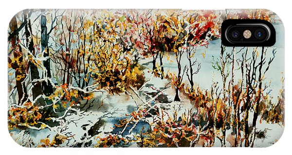 Between Frozen Waters IPhone Case