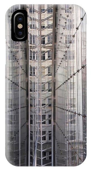 Between Glass Walls IPhone Case