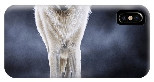 'between The White And The Black' IPhone Case