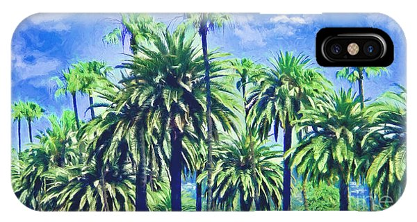 Beverly Hills Palms IPhone Case