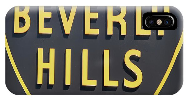 Beverly Hills iPhone Case - Beverly Hills Sign by Mindy Sommers