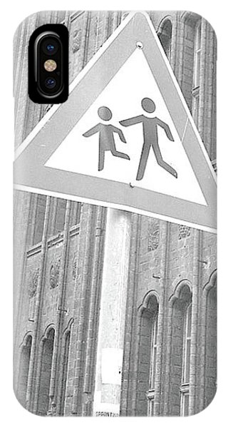 Beware Of The Children IPhone Case
