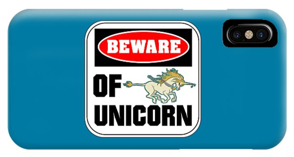Beware Of Unicorn IPhone Case