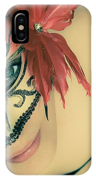 Luminous Body iPhone Case - Beyond The Mask #02 by Loriental Photography