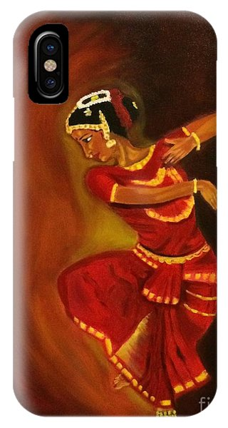 Bharatnatyam Dancer IPhone Case