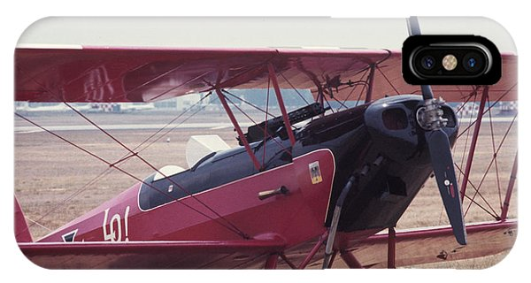 IPhone Case featuring the photograph Bi-wing-5 by Donald Paczynski