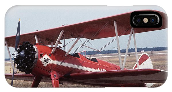 IPhone Case featuring the photograph Bi-wing-6 by Donald Paczynski