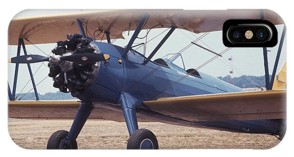 IPhone Case featuring the photograph Bi-wing-8 by Donald Paczynski