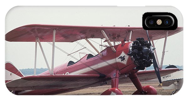 IPhone Case featuring the photograph Bi-wing-9 by Donald Paczynski