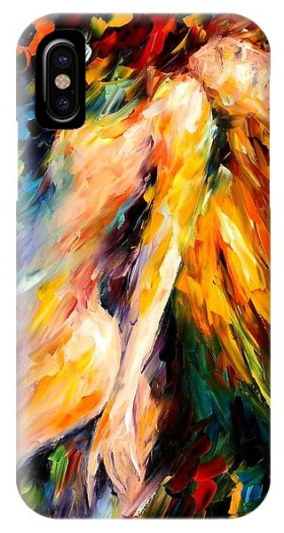 Afremov iPhone X Case - Bias by Leonid Afremov