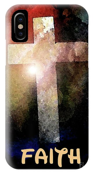 Biblical-faith IPhone Case