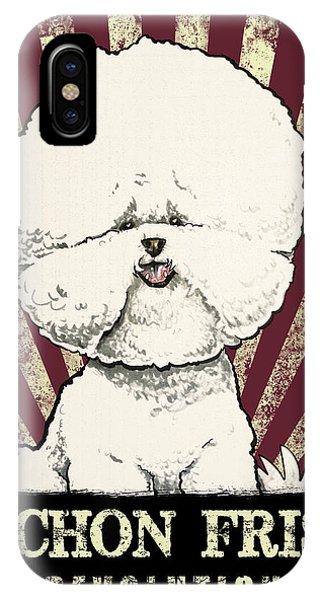 Bichon Frise Revolution IPhone Case