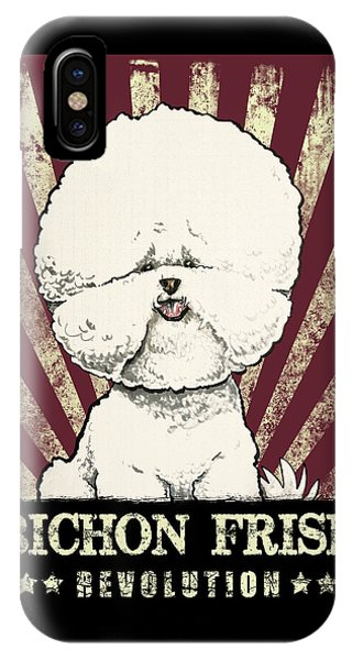 Bichon Frise Revolution IPhone Case