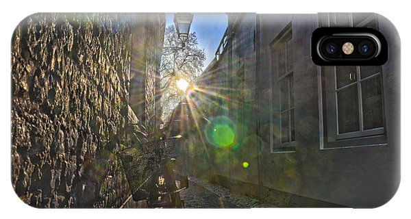 Bicycle Alley IPhone Case