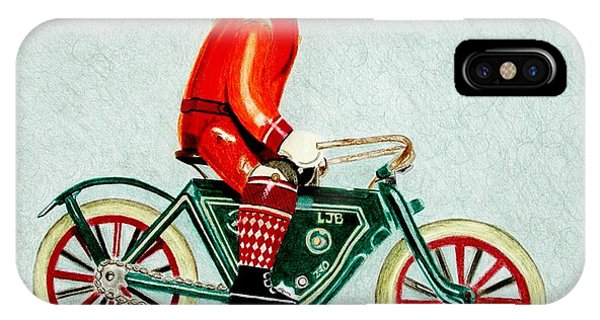 Bicycle Rider IPhone Case
