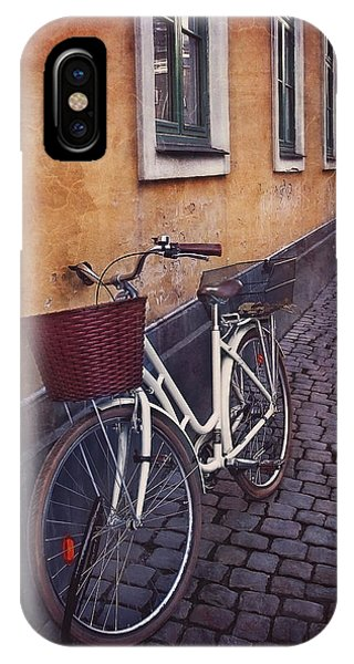 Bicycle With A Basket IPhone Case