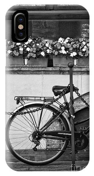 Bicycle With Flowers IPhone Case