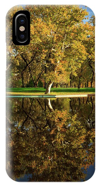 Bidwell Park Reflections IPhone Case