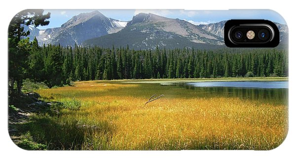Autumn At Bierstadt Lake IPhone Case