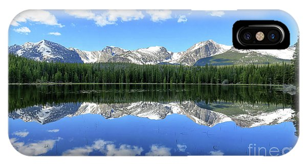 Bierstadt Lake In Rocky Mountain National Park IPhone Case
