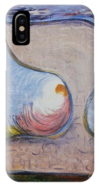 Biet - Meditation In Oil IPhone Case
